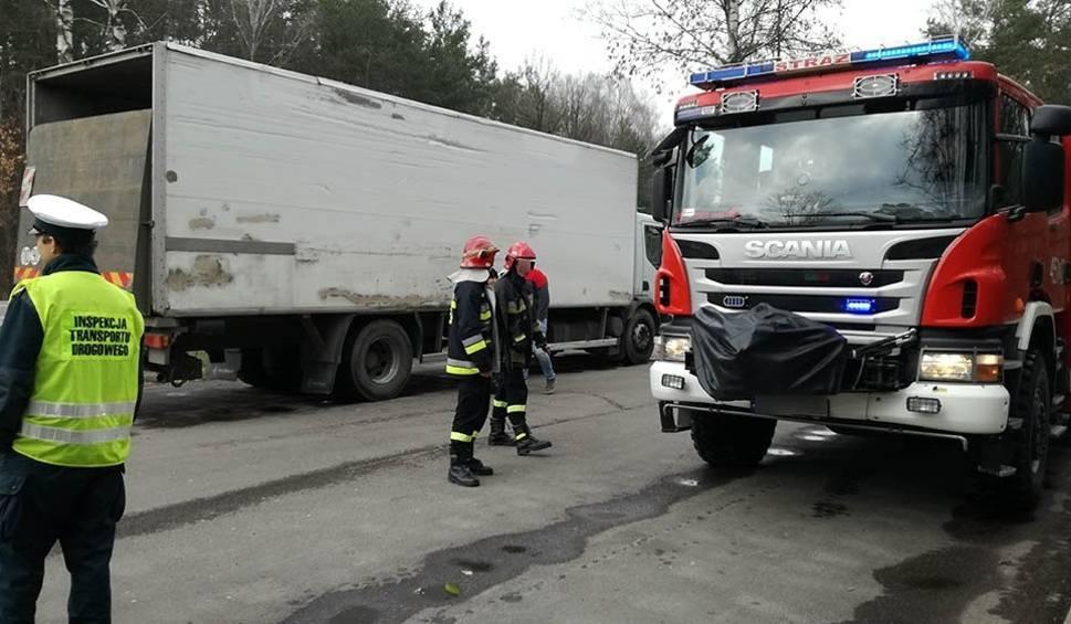 Film do artykułu: Kontrola WITD w woj.lubelskim: to była ciężarówka ze źle zabezpieczoną trucizną