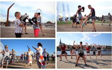 Joga, taniec, sztuki walki i wiele innych bezpłatnych zajęć na bulwarach przez cały tydzień [HARMONOGRAM]