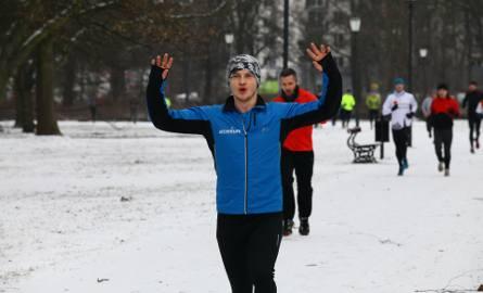 Bieg Parkrun Łódź w parku Poniatowskiego 25 lutego 2017 r. [ZDJĘCIA, FILM]