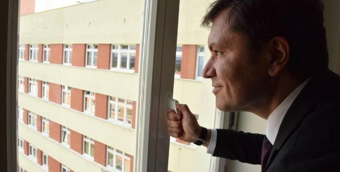Michał Jonczynski jako p.o. dyrektora grudziądzkiego szpitala pracował  przez dwa miesiące 2016 r.
