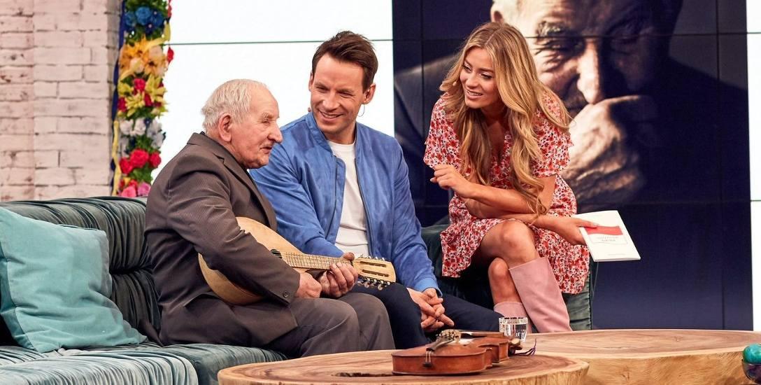 Tadeusz Grabowski ma 98 lat i robi muzyczną karierę
