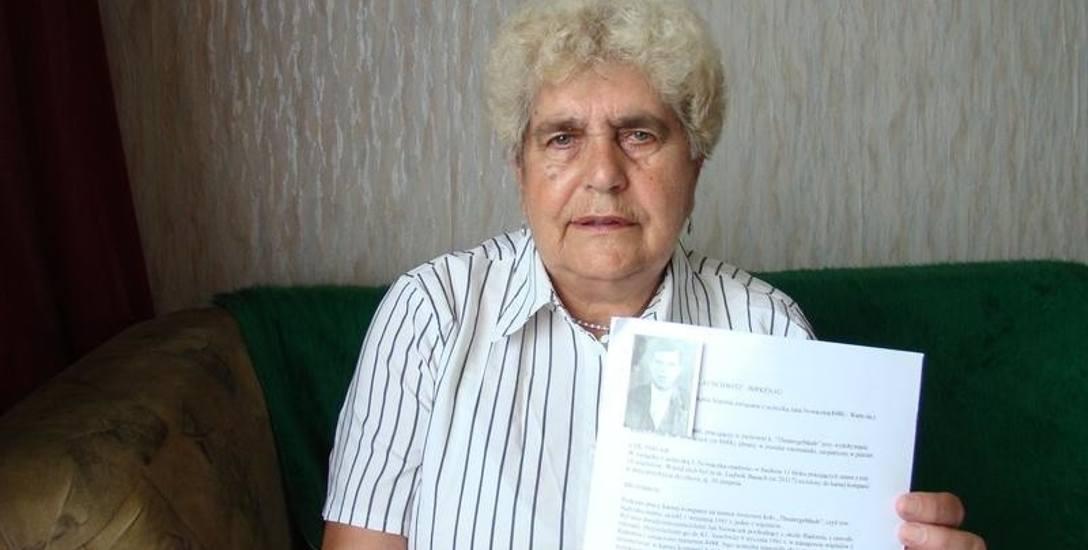 Maria Wądrzyk, córka Wawrzyńca Kuliga