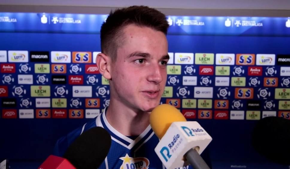 Film do artykułu: Jakub Kamiński o meczu Lech - Jagiellonia: Byłem w szoku, gdy zobaczyłem swoje nazwisko w pierwszym składzie