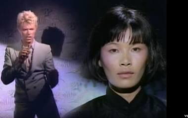 """David Bowie i jego """"China Girl"""" - patrz miejsce 5. na liście"""