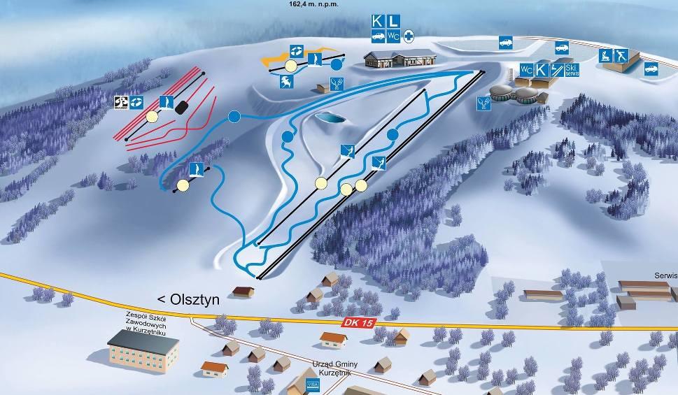 Film do artykułu: Na narty? Blisko. Tylko 20 kilometrów od Brodnicy (Kurzętnik)