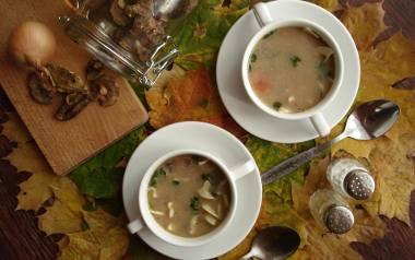 Aromatyczna zupa z suszonych grzybów. Zobaczcie przepis!