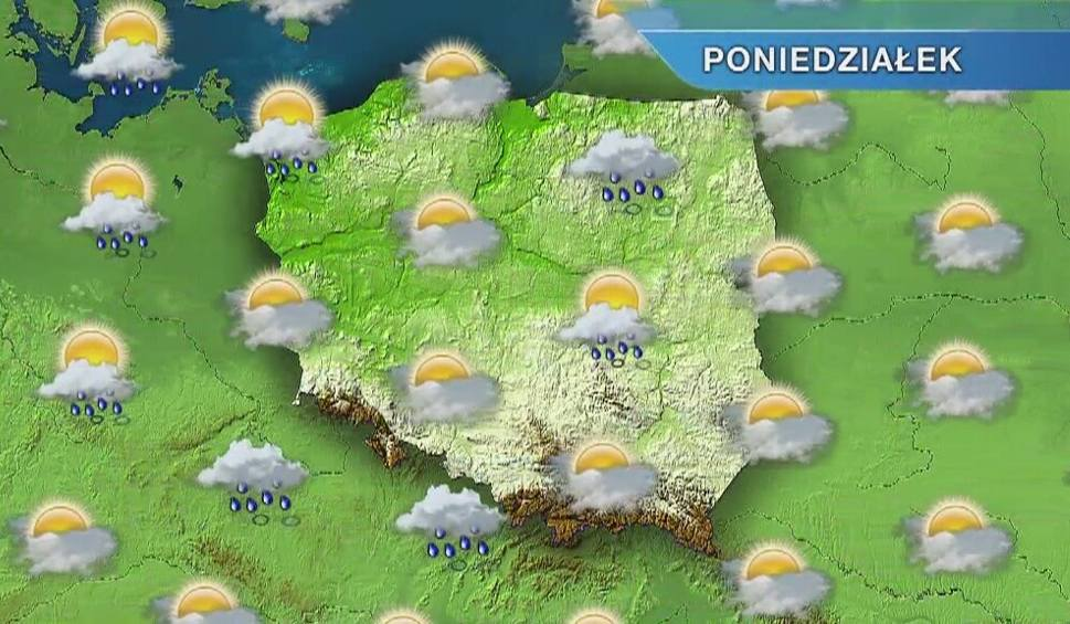 Film do artykułu: Pogoda w Szczecinie i regionie. Poniedziałek z przelotnymi opadami deszczu [wideo]