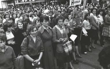 Marsz Głodowy36 lat temu, 30 lipca 1981 roku, ulicą Piotrkowską w Łodzi przeszedł marsz głodowy kobiet. Była to największa uliczna demonstracja w historii