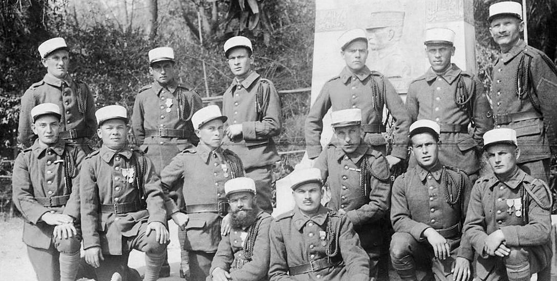 Polski oddział francuskiej Legii Cudzoziemskiej toczący walki z tubylcami w Maroku.