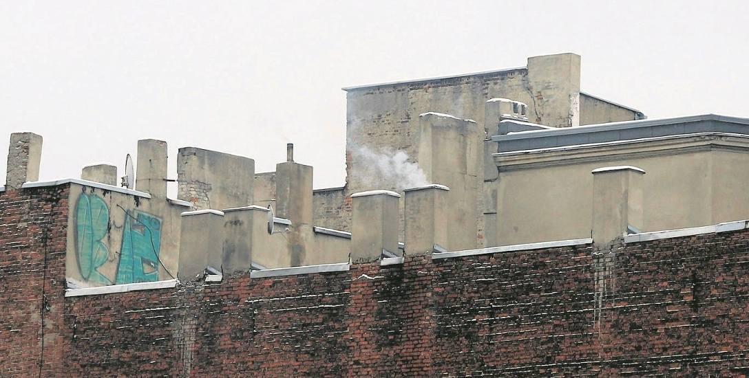 Smog nad Łodzią.  Już truje...