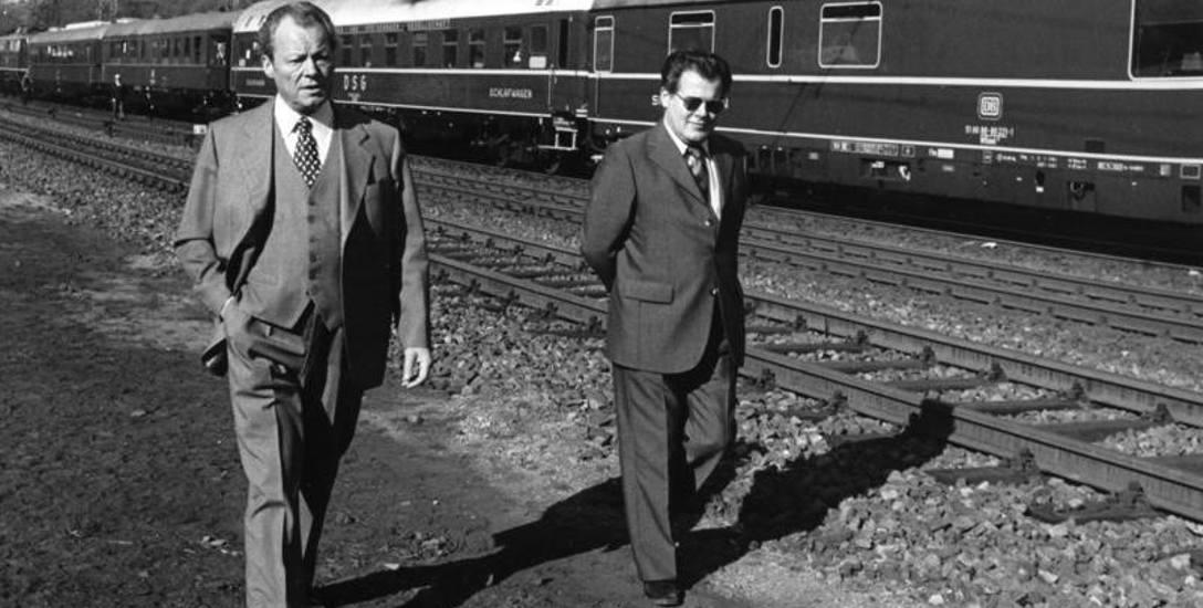 Przez wiele lat u boku kanclerza Brandta działał Agent Stasi. Był to sekretarz polityka