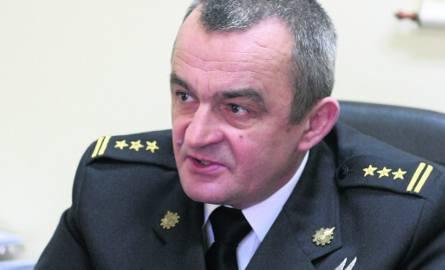 Starszy brygadier Andrzej Wyciszkiewicz - wokół jego odwołania jest wiele znaków zapytania. Sprawą zajęła się prokuratura
