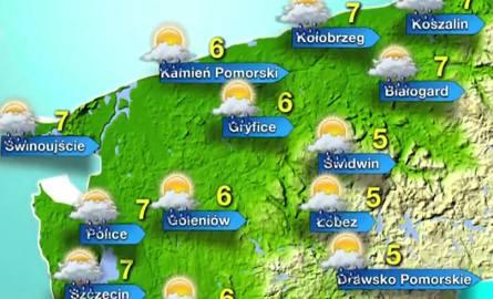 Pogoda nad morzem na poniedziałek [wideo]