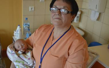 Katarzyna Węgrzyńska mówi: - Położne doświadczają cudu narodzin każdego dnia. Zawsze z takimi samymi emocjami, radością i nadzieją, że każde dziecko,