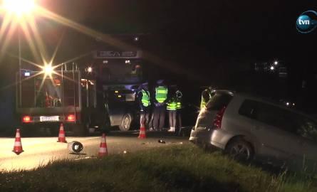 Wypadek na drodze krajowej numer 10. Nie żyją dwie osoby
