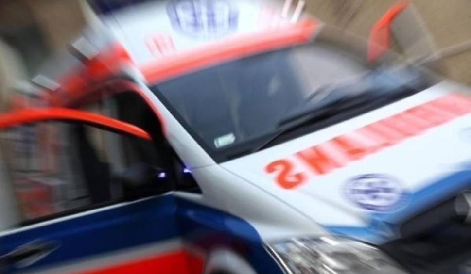 Film do artykułu: 38-latek potrącił rowerzystkę koło Studzieńca. Grozi mu więzienie