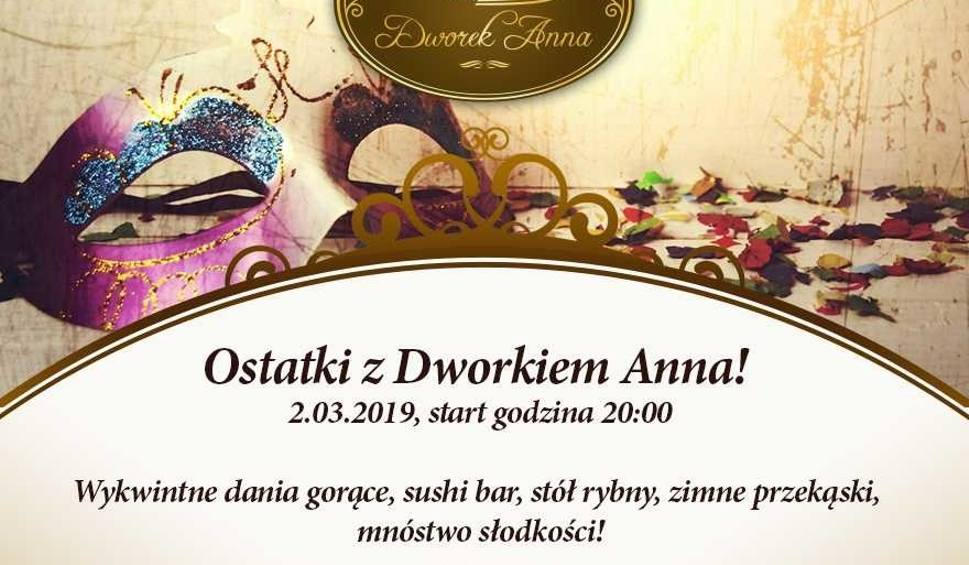Film do artykułu: Dworek Anna w Podgórze zaprasza na ostatki! Impreza już 2 marca