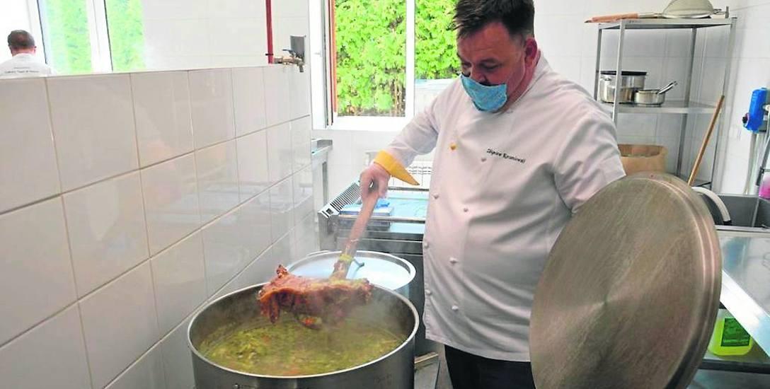 Najlepsi polscy kucharze przygotowali obiad dla pracowników szpitala