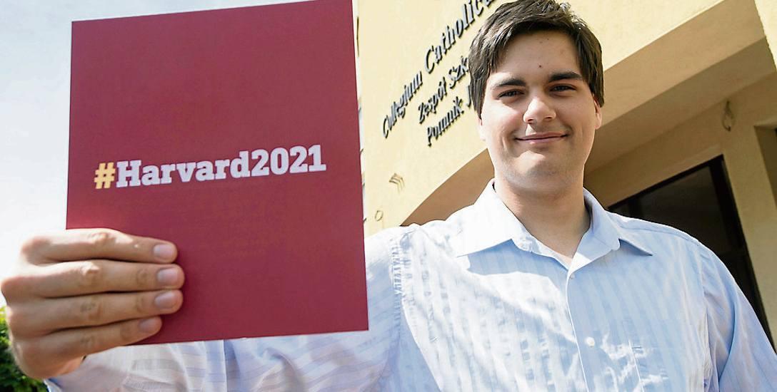 Od września Paweł Rybacki rozpocznie studia na jednej z najlepszych uczelni świata - amerykańskim Harvardzie