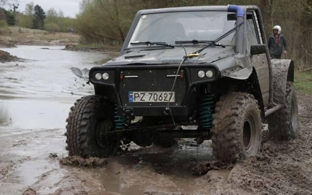 Nietypowy Okaz samochody terenowe rajd - Gloswielkopolski.pl XL89