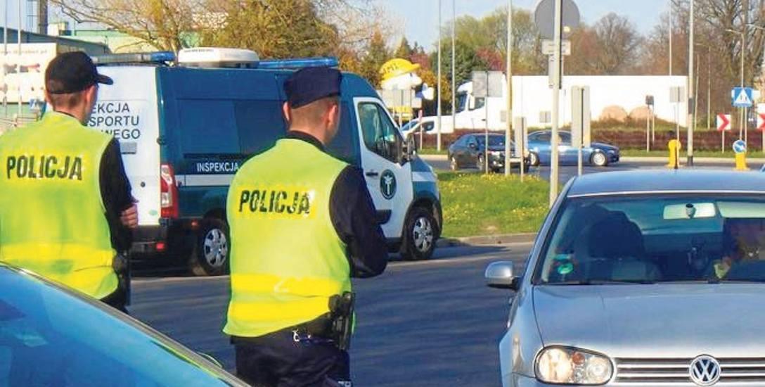 Wspólna akcja koszalińskiej drogówki i ITD na ul. Szczecińskiej w Koszalinie