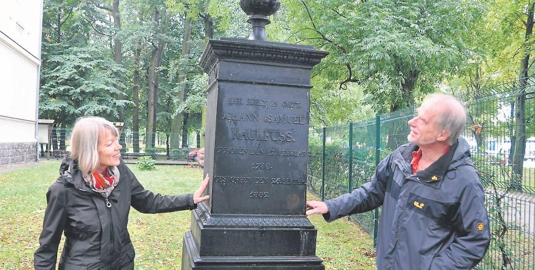 Pomnik słynnego Jana Samuela Kaulfussa doczeka się w końcu renowacji