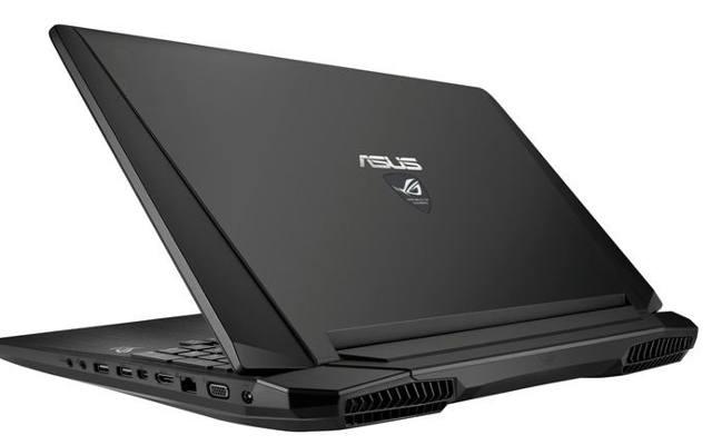 ASUS G750JH: Nowy notebook dla graczy
