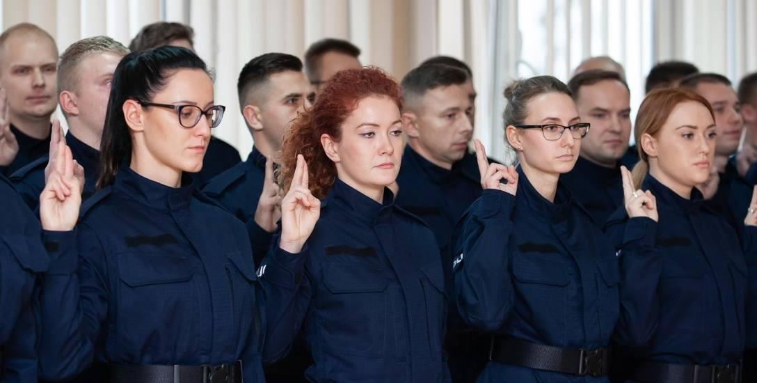 Wczoraj w KWP odbyło się ślubowanie przyjętych do służby 51 policjantek i policjantów