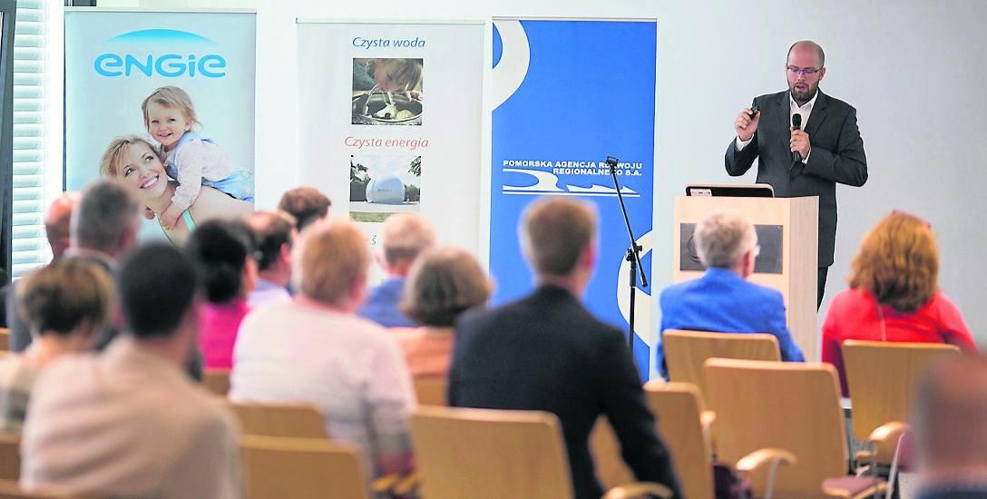 We wtorkowej konferencji w SIT uczestniczyli nie tylko przedstawiciele Ministerstwa Energii, ale także firm tworzących Słupski Klaster Energetyczny,