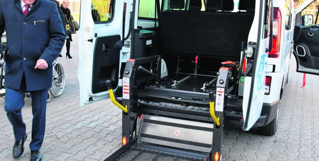 Do dowozów wykorzystany będzie sprzęt specjalistyczny ze skierniewickiego DPS...