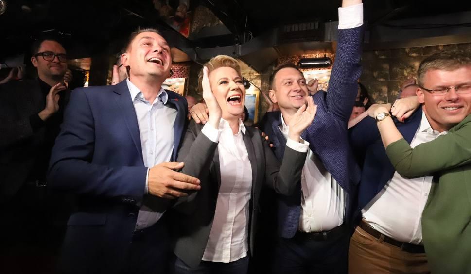 Film do artykułu: Hanna Zdanowska prezydentem Łodzi. Zobacz, jak świętowała zwycięstwo [FOTO]