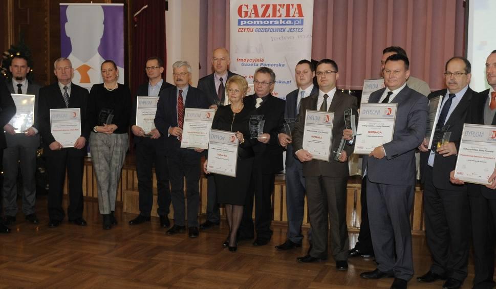 """Laureaci """"Nasze Dobre z Kujaw i Pomorza 2013. Znak jakości Gazety Pomorskiej"""""""