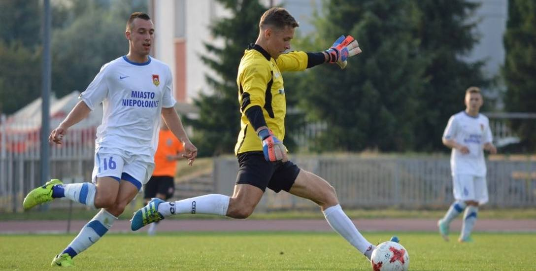 Piotr Gnatek liczy, że dzięki występom w Wiązownicy uda mu się odbudować formę, by potem grać wyżej niż w 4 lidze