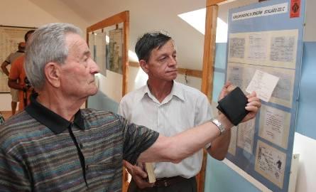 Byli więźniowie obozów odwiedzili Kostrzyn nad Odra