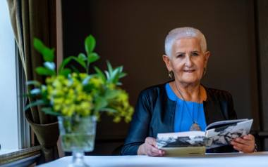 Anna Ryng to kobieta o gołębim sercu. Pomogła setkom kobiet dotkniętych przemocą domową. Gościła niedawno w Białymstoku. W stolicy Podlasia odbył się