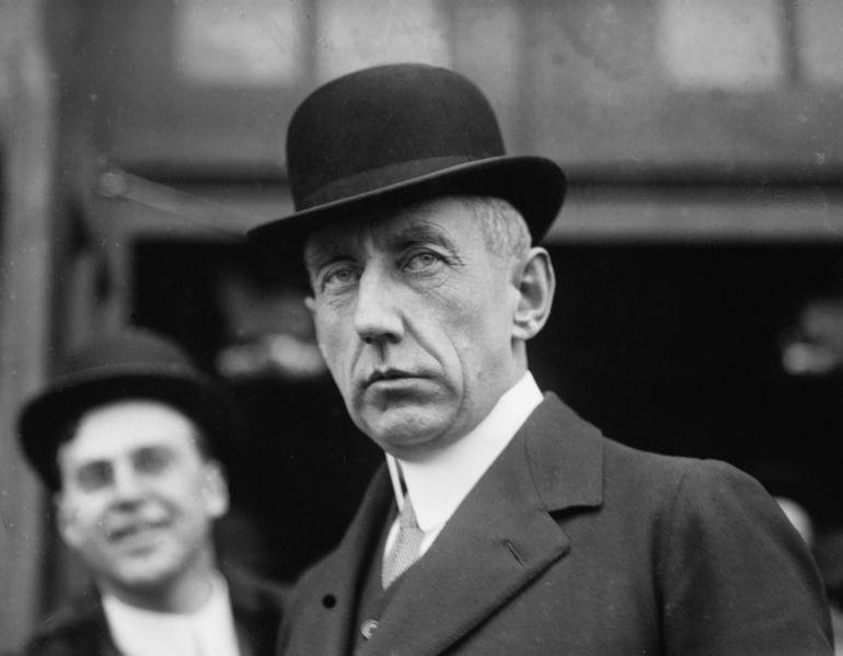 Roald Amundsen w 1913 roku.