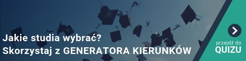 Jakie studia wybrać? Skorzystaj z naszego GENERATORA KIERUNKÓW