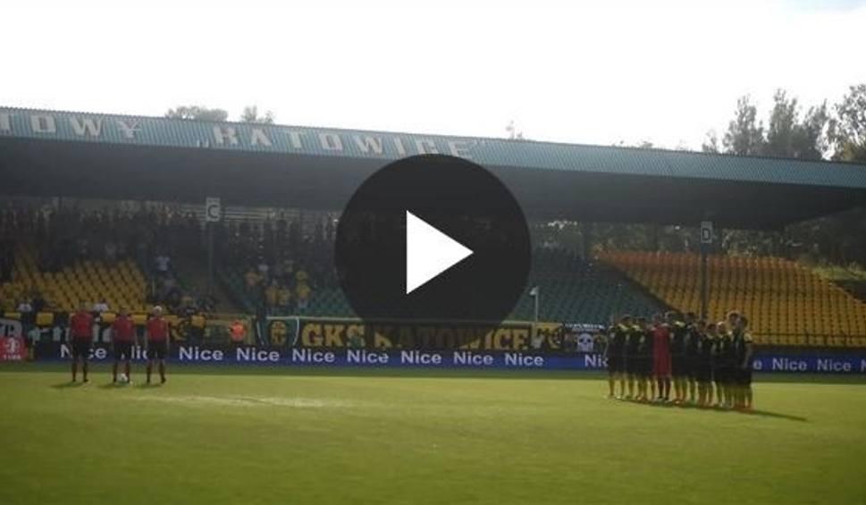 Film do artykułu: Minuta ciszy przed meczem GieKSy z Zagłębiem [WIDEO]