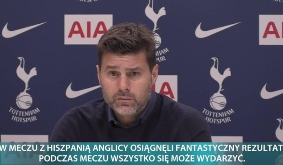Film do artykułu: Menedżer Tottenhamu o wygranej Anglii z Hiszpanią: Jestem bardzo dumny z tego, co pokazali moi zawodnicy