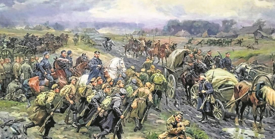 Bitwa pod Kaniowem, obraz Stanisława Bagieńskiego