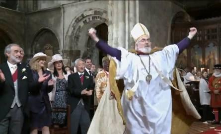 "Kadr z filmu ""The T-Mobile Royal Wedding"""