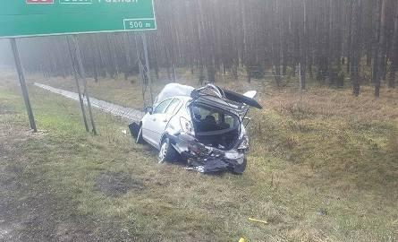 Groźny wypadek miał miejsce dzisiaj w Stryszku