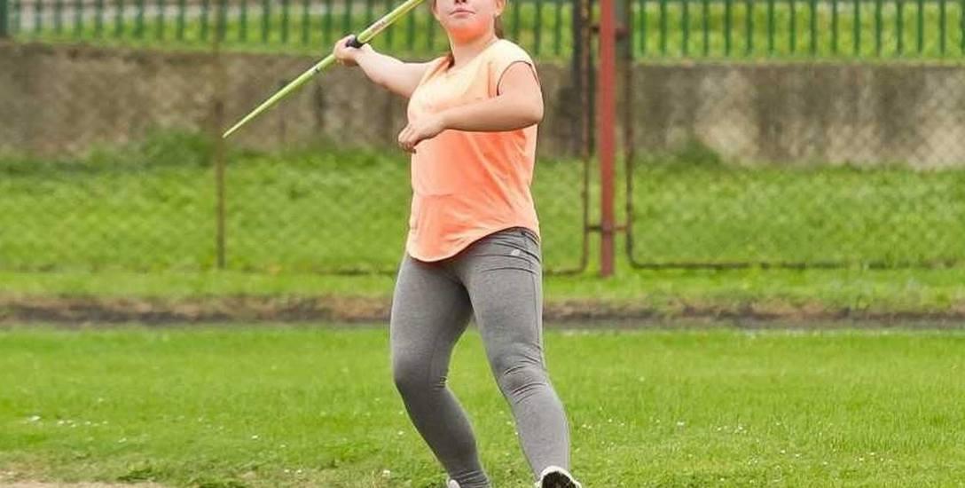 Oliwia Pelczarska ma za sobą świetny sezon. W nowym roku będzie już startować w kategorii juniorki młodszej.