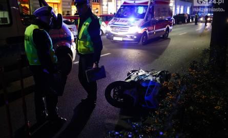 Śmiertelny wypadek w Szczecinie. Nie żyje motocyklistka