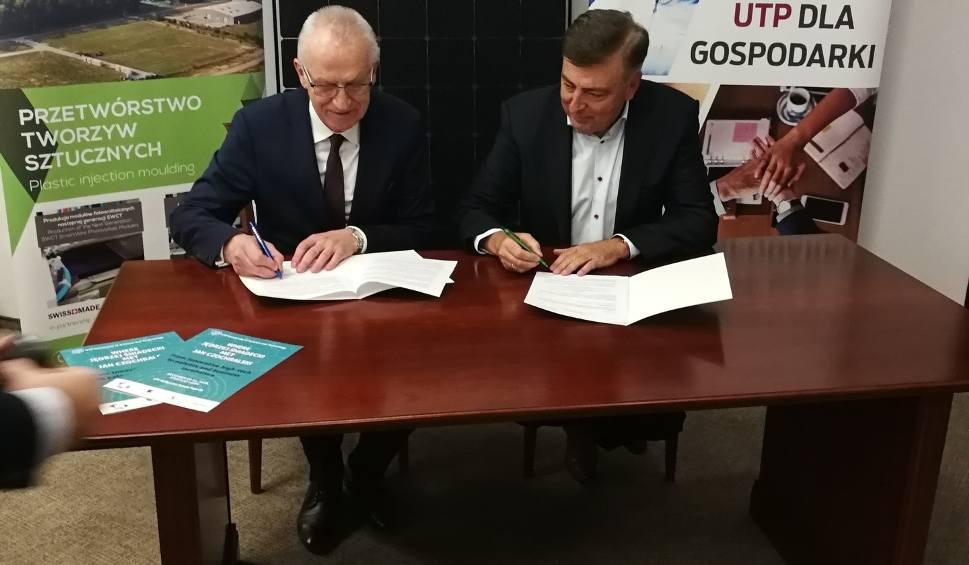 Film do artykułu: UTP i Hanplast Sp. z o.o. będą razem prowadzić badania naukowe. Uczelnia i firma zawarły umowę o współpracy