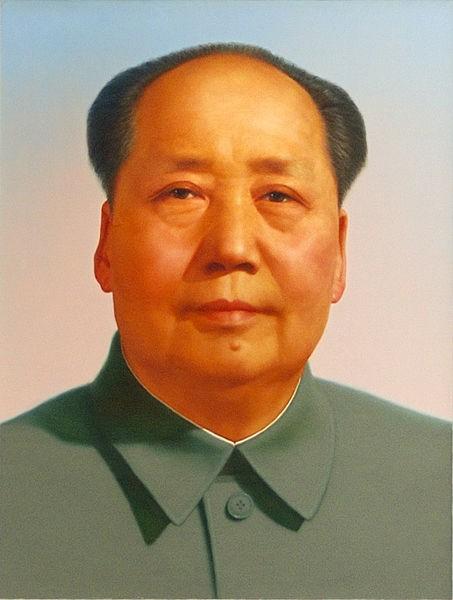Portret Mao Zedonga na Bramie Niebiańskiego Spokoju w Pekinie