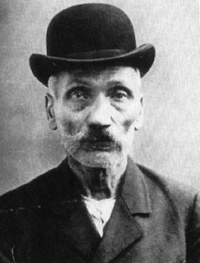 Zdjęcie Wilhelma Voigta z 1906