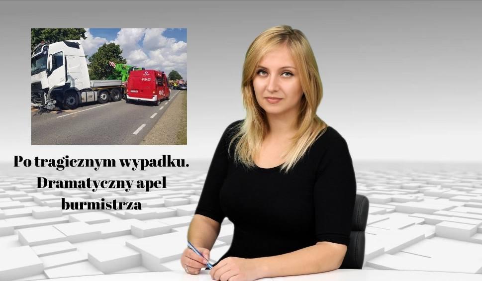 Film do artykułu: WIADOMOŚCI ECHA DNIA. Po tragicznym wypadku w Olszownicy. Dramatyczny apel burmistrza
