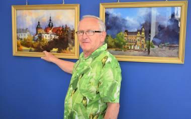 Sądeczanin Lesław Kuźma maluje z pasją już od ponad 40 lat