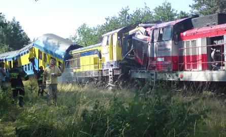 Zderzenie czołowe pociągów osobowych